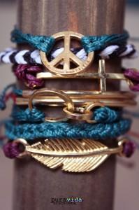 2 bracelets PuraVida acheter en france Cometeshop