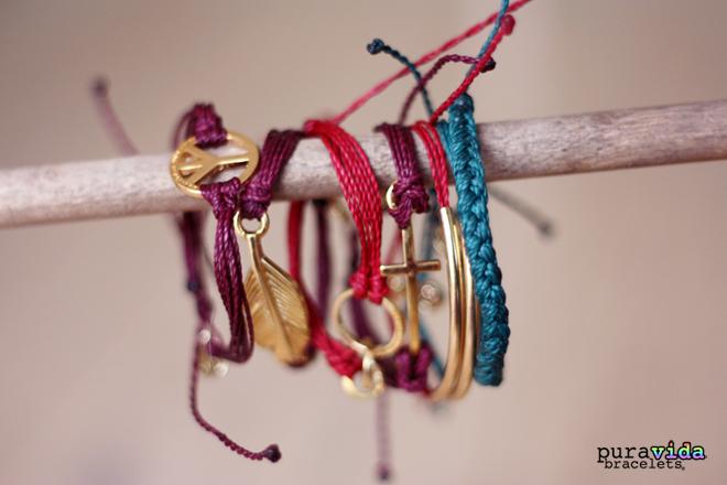 4 bracelets PuraVida acheter en france Cometeshop copie