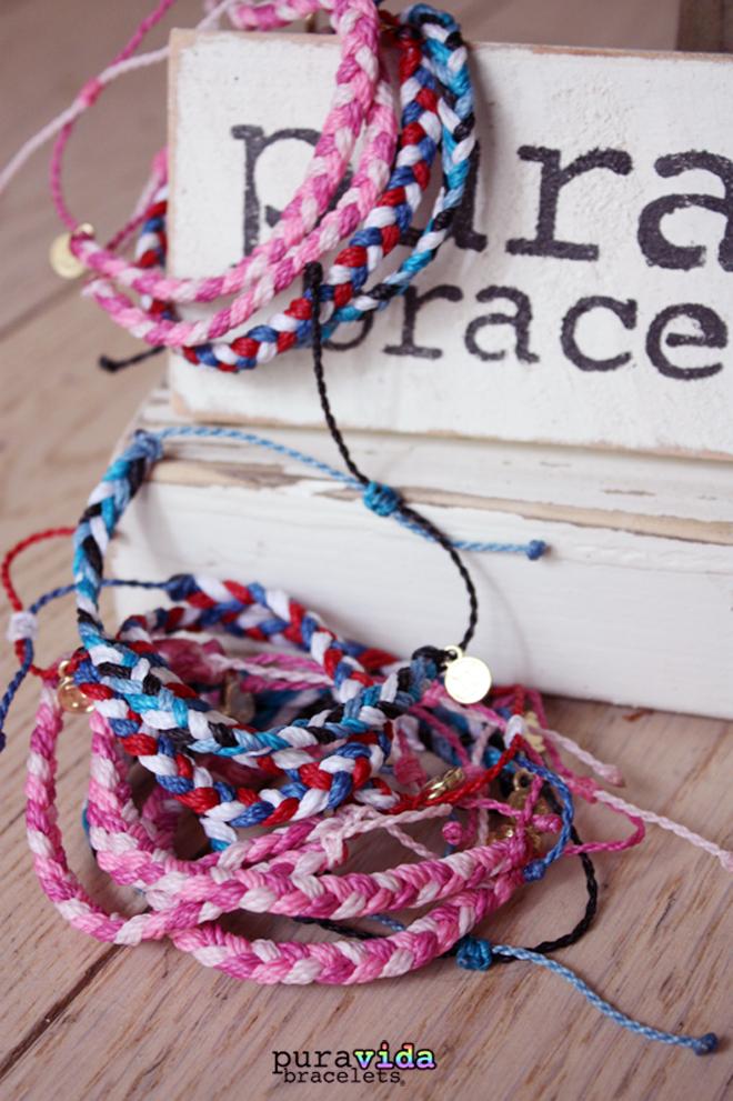 5 bracelets PuraVida acheter en france Cometeshop copie
