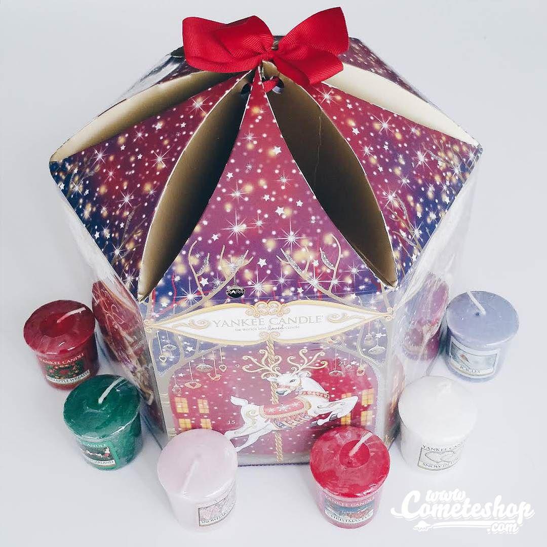 calendrier de l avent caroussel yankee candle shopper sur cadeau de no l. Black Bedroom Furniture Sets. Home Design Ideas