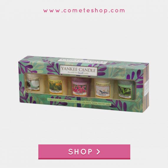 coffret votives bougies yankee candle pure essence boutique paris magasin cometeshop point de vente bougie yankee candle paris