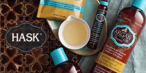 shampoing huile d'argan sans paraben sans sulfate hask