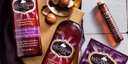 shampoing huile de macadamia sans paraben sans sulfate hask