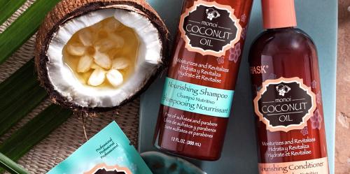 shampoing huile de noix de coco sans paraben sans sulfate hask