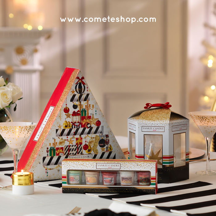 coffrets cadeaux de no l bougies yankee candle le blog de cometeshop. Black Bedroom Furniture Sets. Home Design Ideas