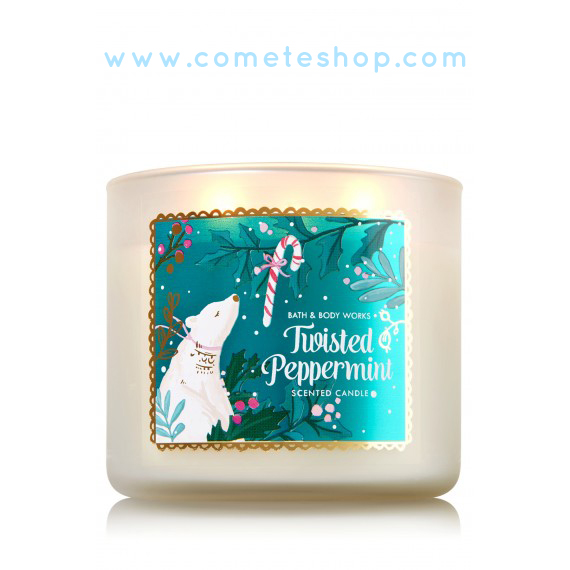 bougies-bath-and-body-works-noel-twisted-pepermint