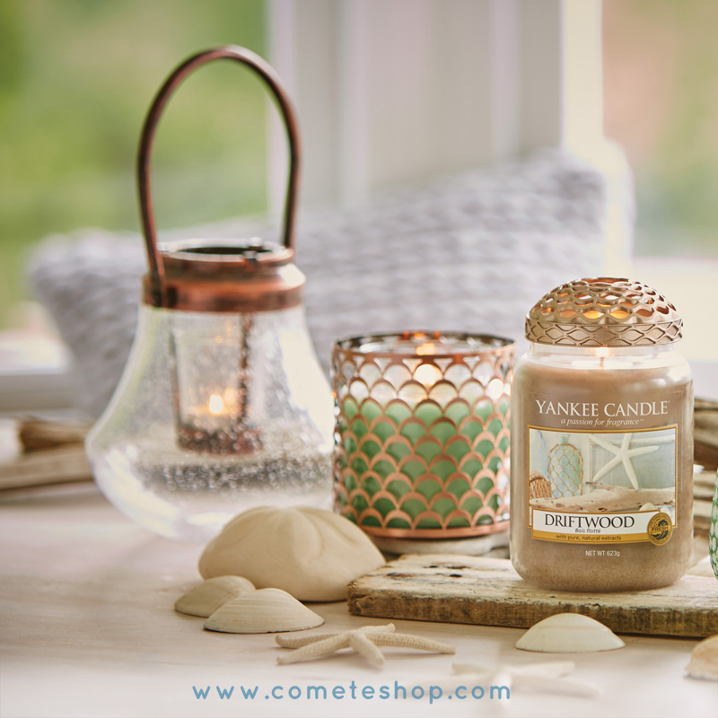 déco marine ocean mer bougies yankee candle porte votive photophore lanterne