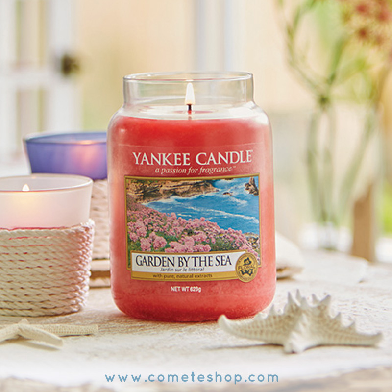 revue nouveaux parfums bougies yankee candle collection coastal living parfum garden by the sea jardin du littoral
