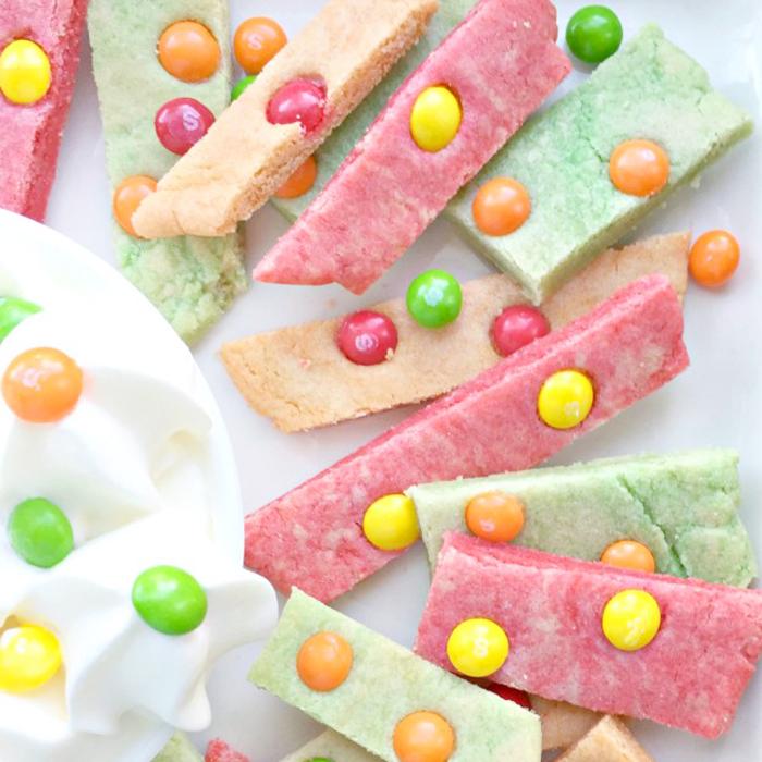recette cookies bonbons skittles