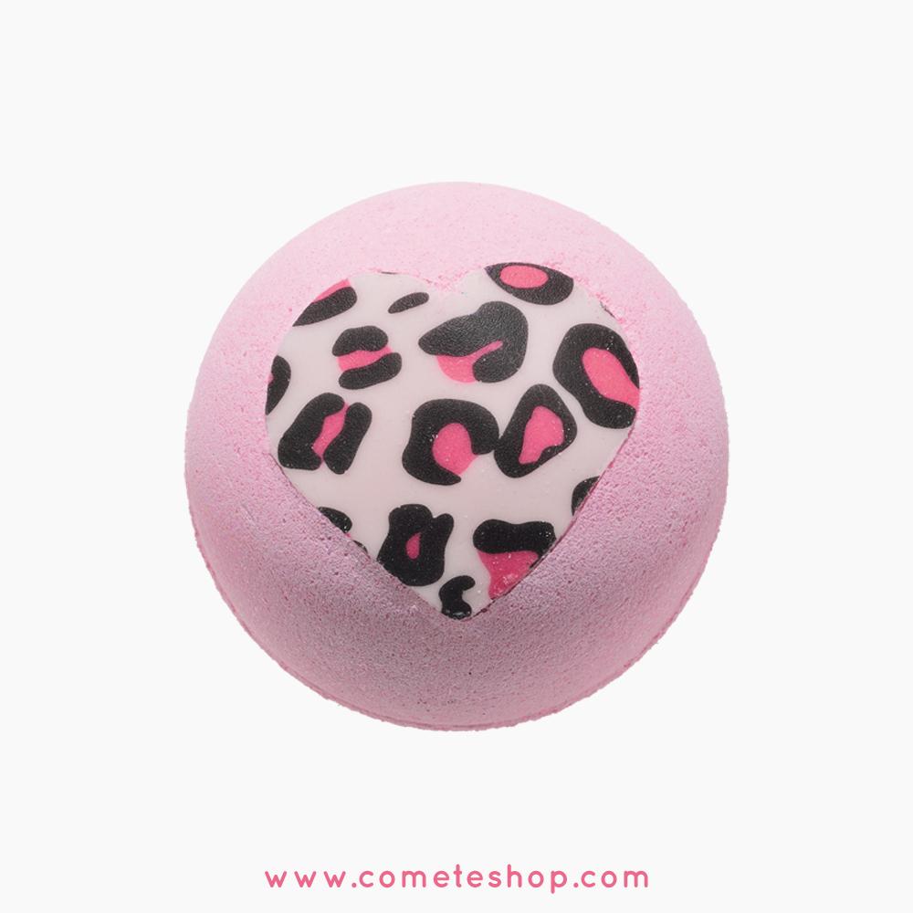 boule de bain rose coeur bomb cosmetic diva fever copie