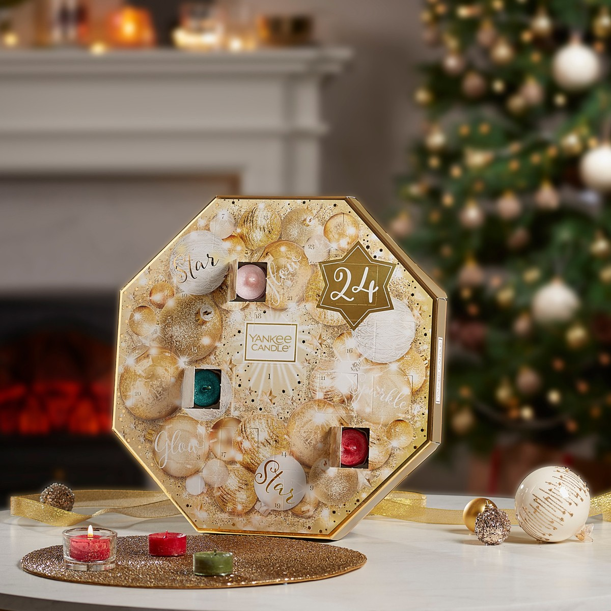 calendrier de l'avent yankee candle 2018 sparkle holiday