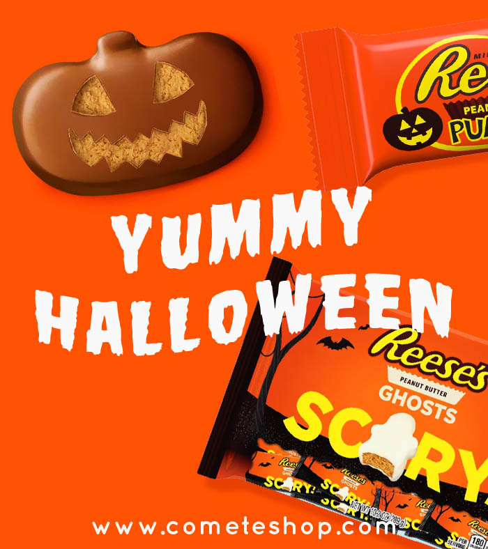 chocolats americains halloween reeses