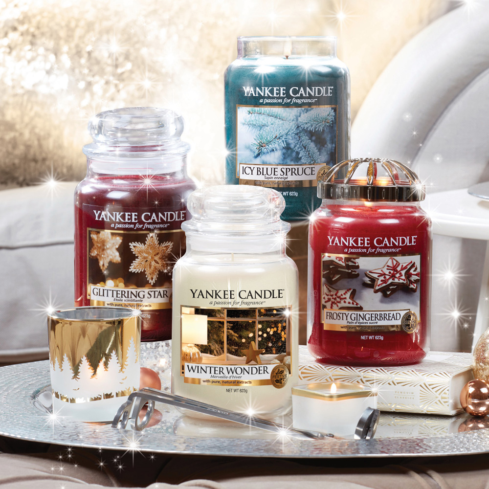 nouvelle collection noel Sparkle holiday yankee candle
