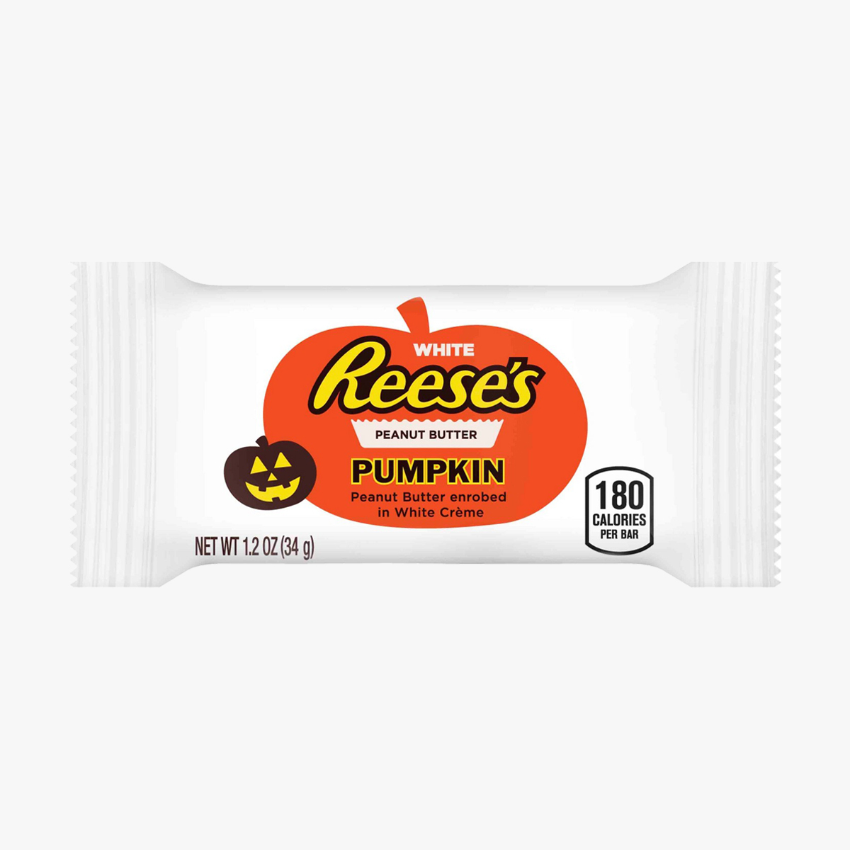 reeses chocolat blanc halloween format individuel pumpkin citrouille epicerie americaine