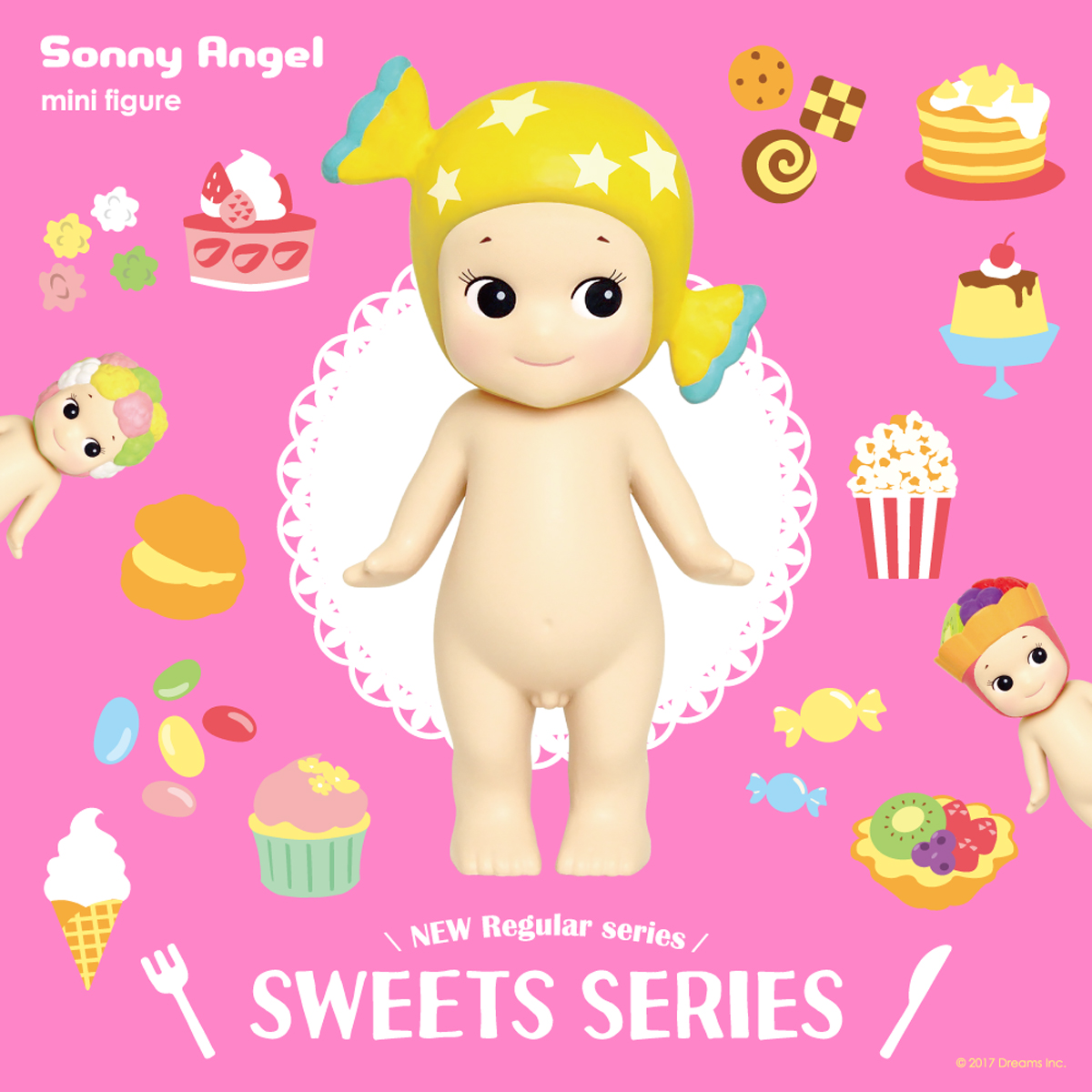 sonny angel nouvelle serie sweets 2018