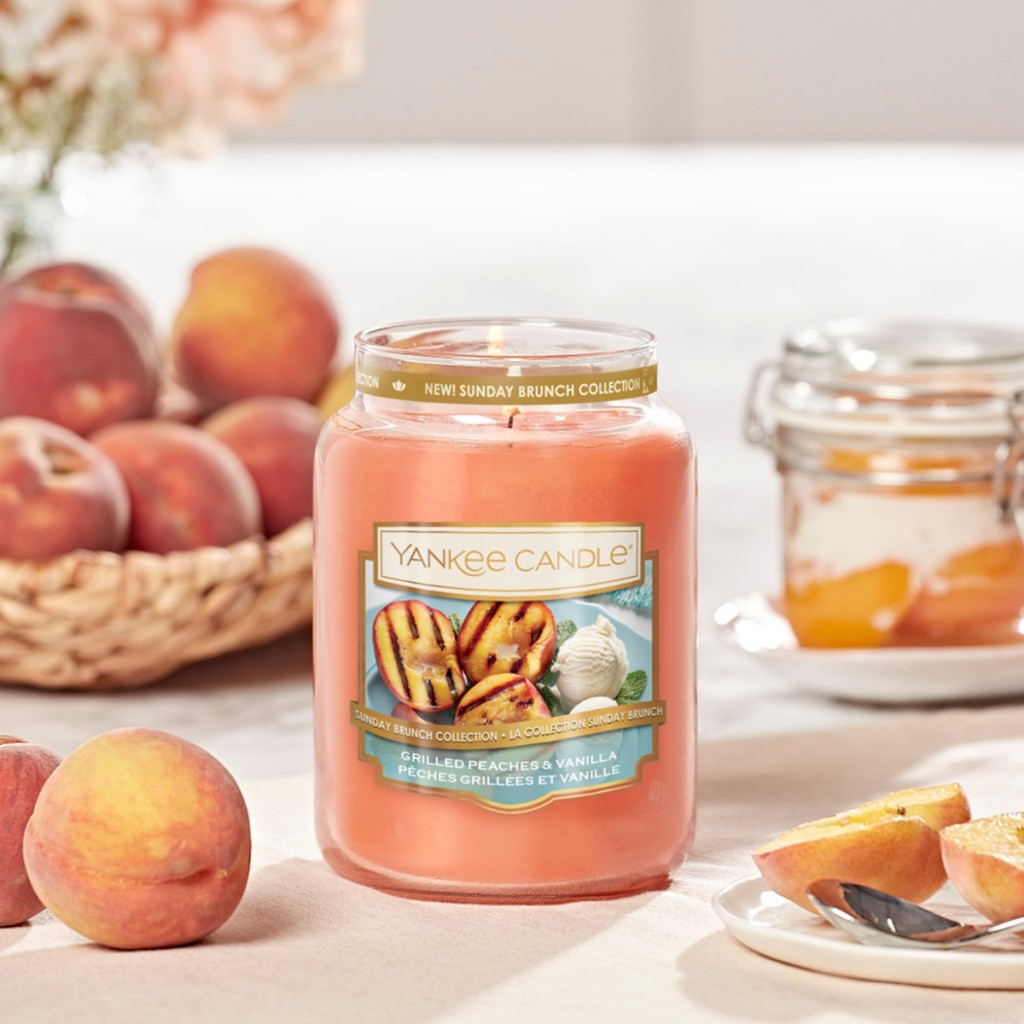 Sunday Brunch_Grilled Peaches & Vanilla bougie yankee candle