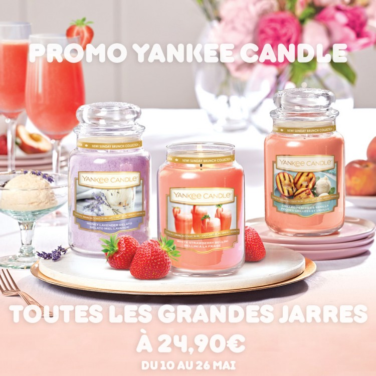 promo fetes des meres yankee candle bougies