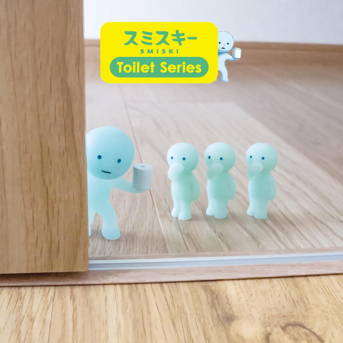 toilet serie smiski france
