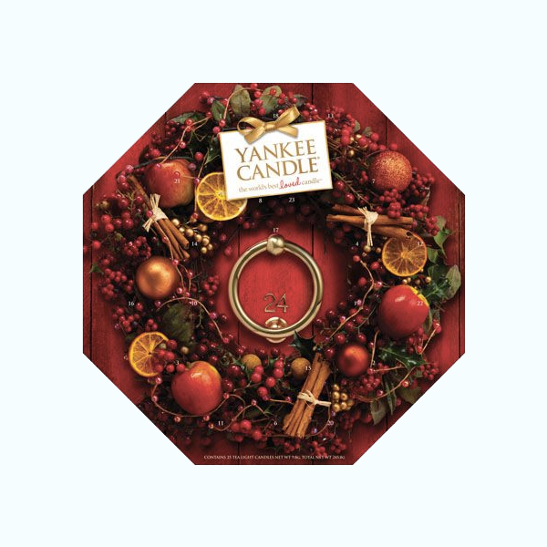 calendrier de l'avent yankee candle