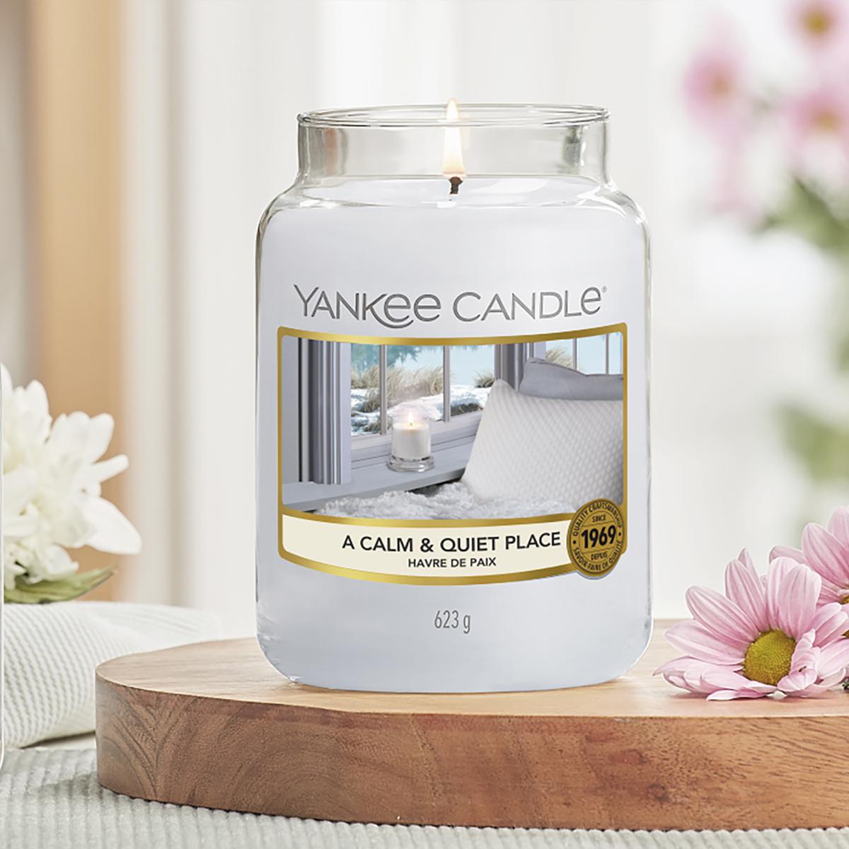 parfum du mois fevrier yankee candle a calm quiet place