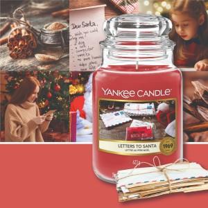 Lettre au Père Noël Yankee candle