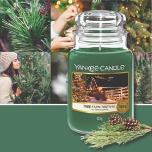 Festival de sapins Yankee candle